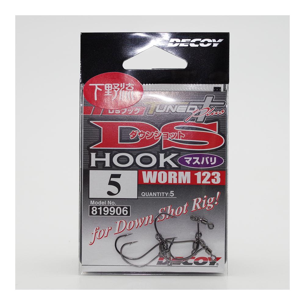Dropshot Haak Worm 123 Hook Decoy 2