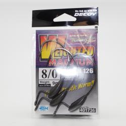 Hook Worm 126 Weighted Magnum Decoy