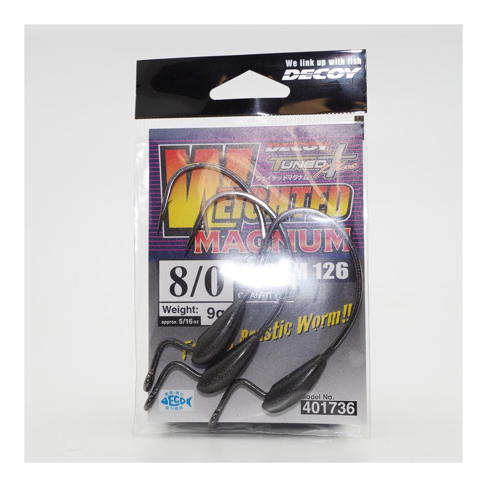Hook Worm 126 Weighted Magnum Decoy 1