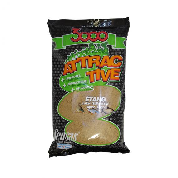 3000 attractive etang 1kg Sensas