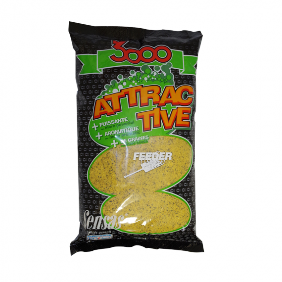 3000 attractive Feeder 1kg Sensas