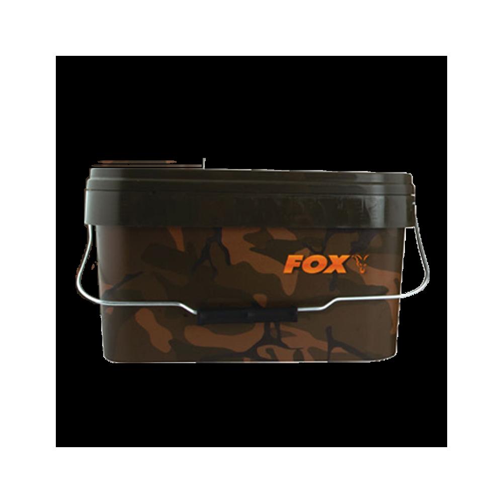 Camo vierkante emmer 5l Fox 1