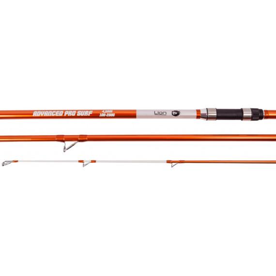 Surfcasting rod Advanced Pro 450cm lion