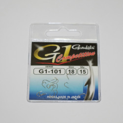 G-1 Competition 101 Gamakatsu hooks per 15