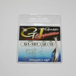 Haken g-1 Competition 101 Gamakatsu par 15
