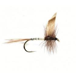 Mouche seche - winged Dry flie Blue dun 1724 ham 14