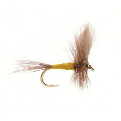 Mouche seche - winged Dry flie Blue winged Olive 1739 ham 1
