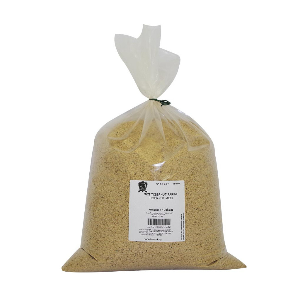 3kg Tigernut flour Deconinck 1