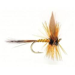 Dry fly - winged Dry flie greenwells glory 0512 ham 14