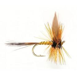Mouche seche - winged Dry flie greenwells glory 0512 ham 18