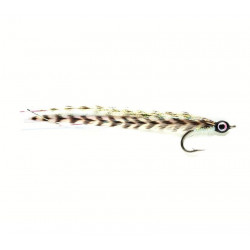 Mouche stream.-taron-cuda-bass baitfish White co103 ham 6