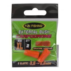Tulipes externes xl Orange par 2 Fun fishing