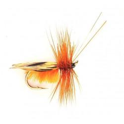 sedge Vliegvissen - kaneel caddis Savilles Super ham 0496 12