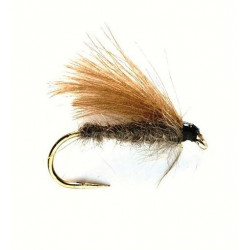 Vliegvissen Fly - CDC Dries Natural 0654 Ham 16