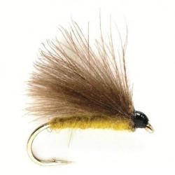Vliegvissen Fly - CDC Dries Olive 0655 Ham 16