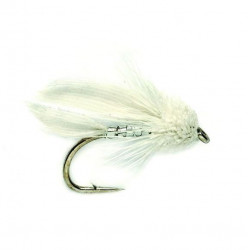 Vliegvissen stream.-muddl.minn. Mini muddl White 1130 n.10