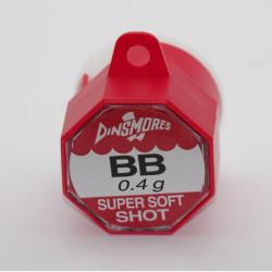 Boite plombs anglais One Shot bb 0.40gr Dinsmore