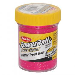 Berkley Fluo Red Glitter Trout Paste