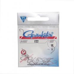 25 Gamakatsu fly hooks f22