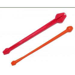 Rood-oranje forel afdruiprek Eco Dk aan te pakken