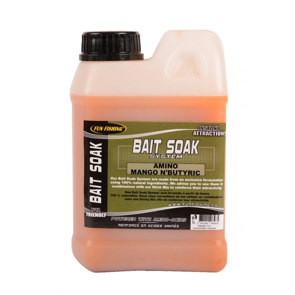 Bait Soak System 1l mangoboter 1