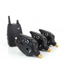 3 detectors + Fox mr + control unit