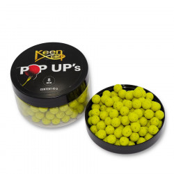 Pop Up 8mm gele Keen karper
