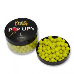 Pop Up 8mm yellow Keen carp