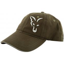 Casquette Fox verte-argenté