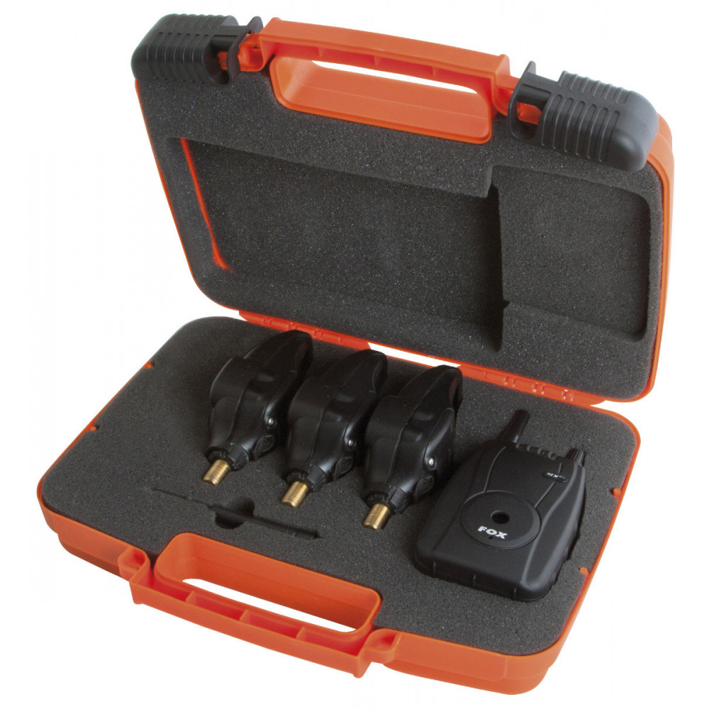 Koffer 3 detectoren (rood-oranje-groen) + centrale micron mxr + Fox 4
