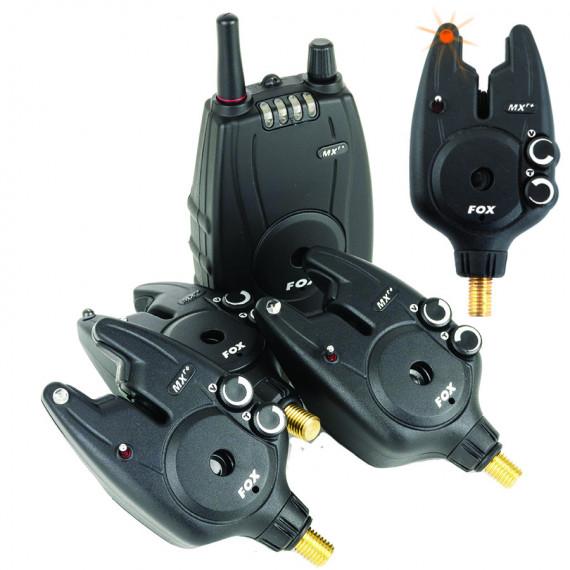 Box of 4 detectors Fox micron mxr + with control unit (4 colors) Fox 1