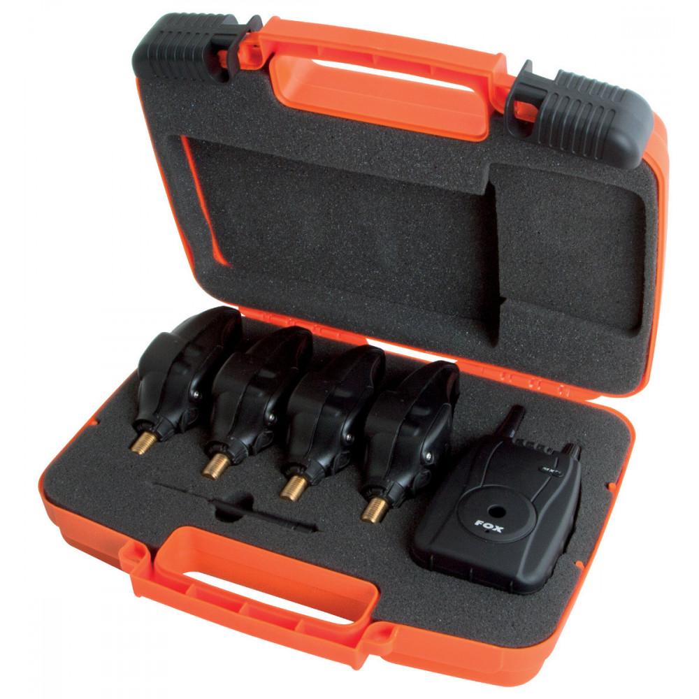 Coffret 4 dÉtecteurs Fox micron mxr+ avec centrale (4 couleurs) Fox 5