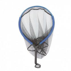 Aluminum floating racket landing net - 65 x 45/40 cm