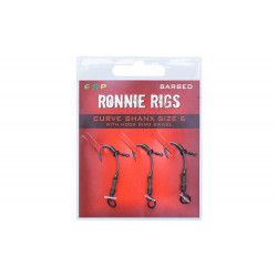 Esp ronnie rigs Barbed hooks by 3