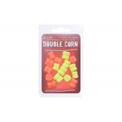 Artificial bait Double Corn orange / yellow by 16