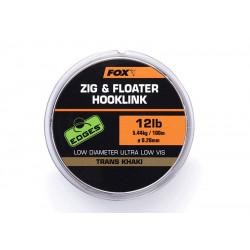 Nylon Fox Edges Zig floater onderlijn - 100m