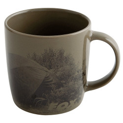Fox ceramic scenic mug