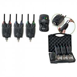 Coffret détecteurs 3+1 Extra carp Elite 3