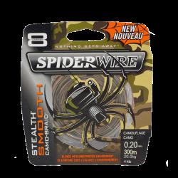 Tresse Spiderwire Stealth Smooth 8 Camo 300m Berkley