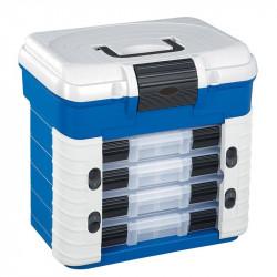Boite de pêche Superbox 501 bleu / gris 420 x 303 x H400mm Plasticapanaro