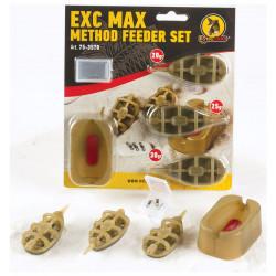 Exc Max MetFeeder Set Extra Carp