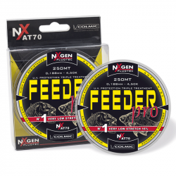 Nylon Feeder Pro 250m Colmic translucide