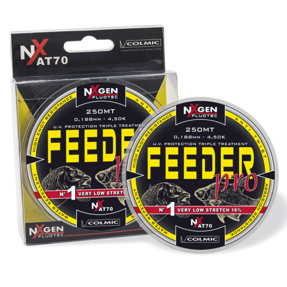Nylon Feeder Pro 250m Colmic doorschijnend