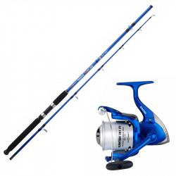 Canne Tamara Sunset Power XRS2 240cm (200-400g) + Sunfish 651 FD