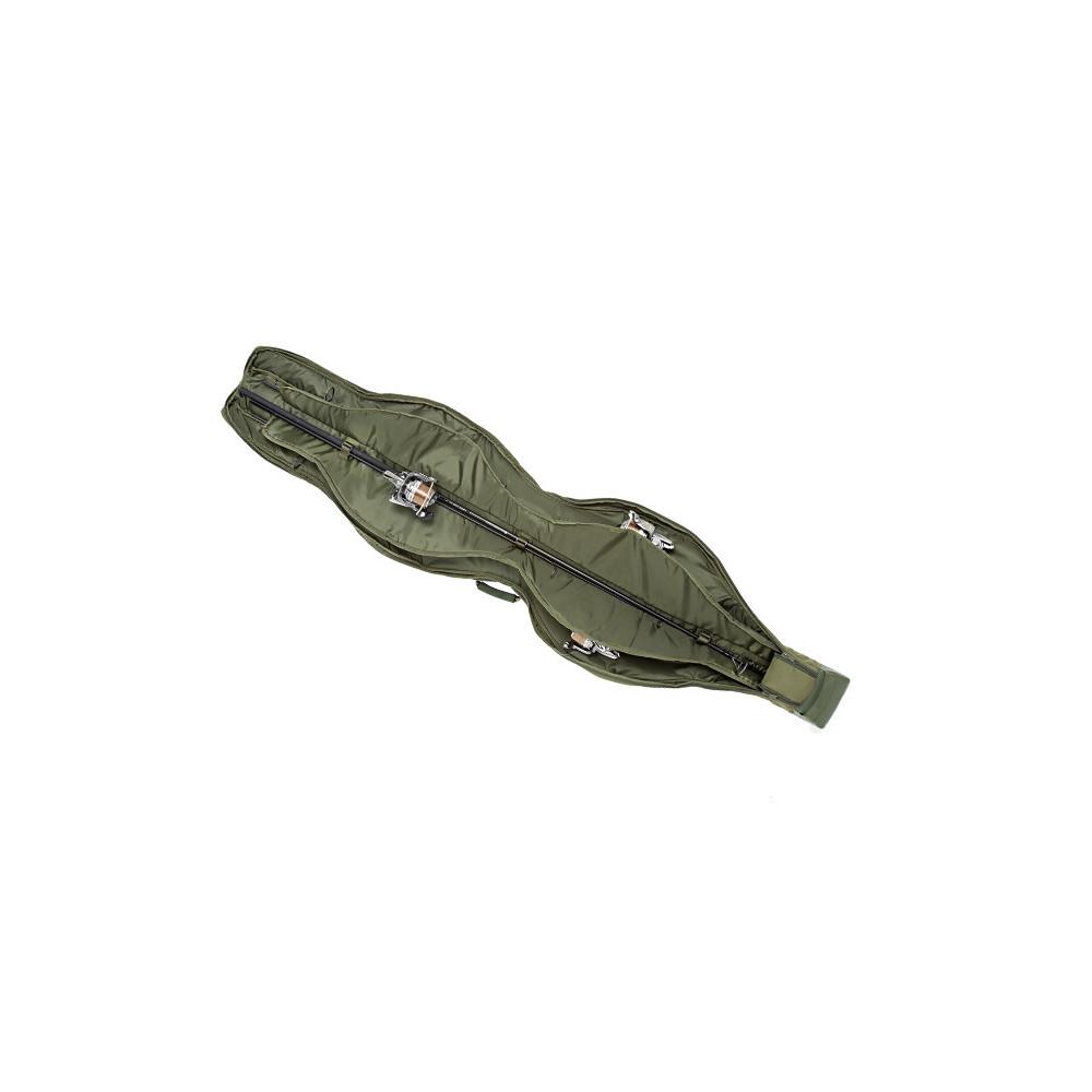 Foudraal drie hengels NxG Compact Sleeve 12ft Trakker 3