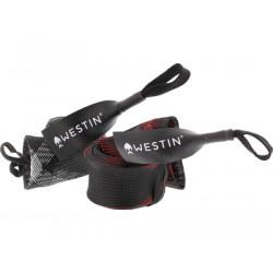Chaussette De Protection noir - rouge 190cm Westin Rod Cover Spin