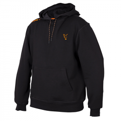 Orange Black Hoodie Fox Collection Sweatshirt