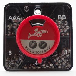 Dinsmore Center Cut 5-compartment dispenser box