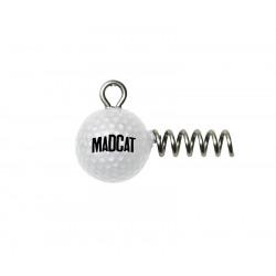 Gelode meerval madcat golfbalschroef in Jighead 80g bij 2