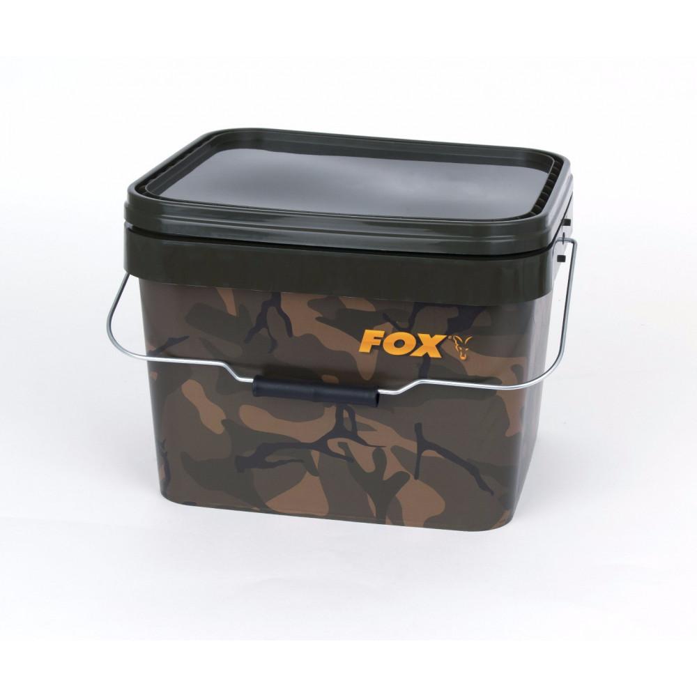 Camo Square Bucket 10l Fox  1